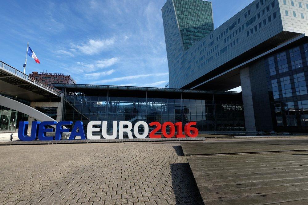 EURO 2016 lukuina