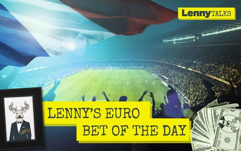 Lennys Bet of the Day: Frankrike – Island (+1.5)