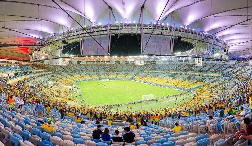 Det här är Maracanã-stadion