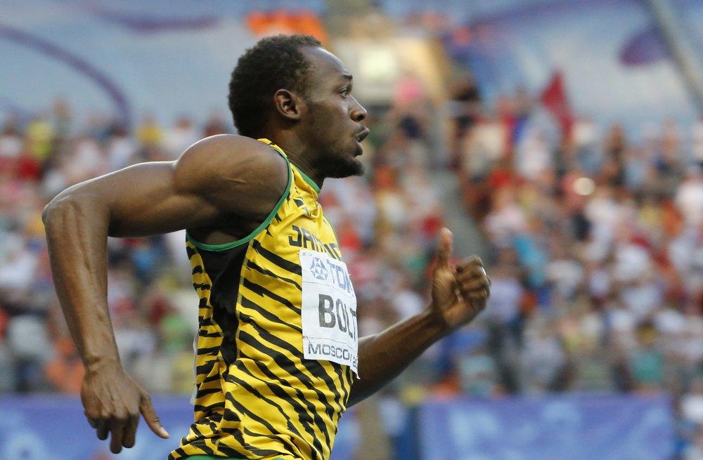 Usain Bolt siktar på trippel-guld ikväll