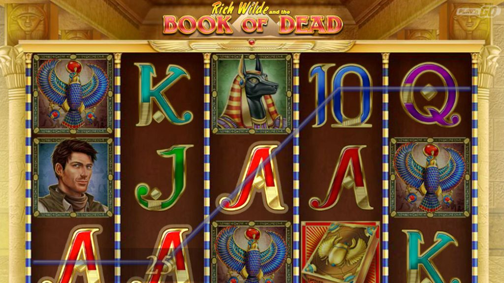 Book of Dead Touch Spelautomat