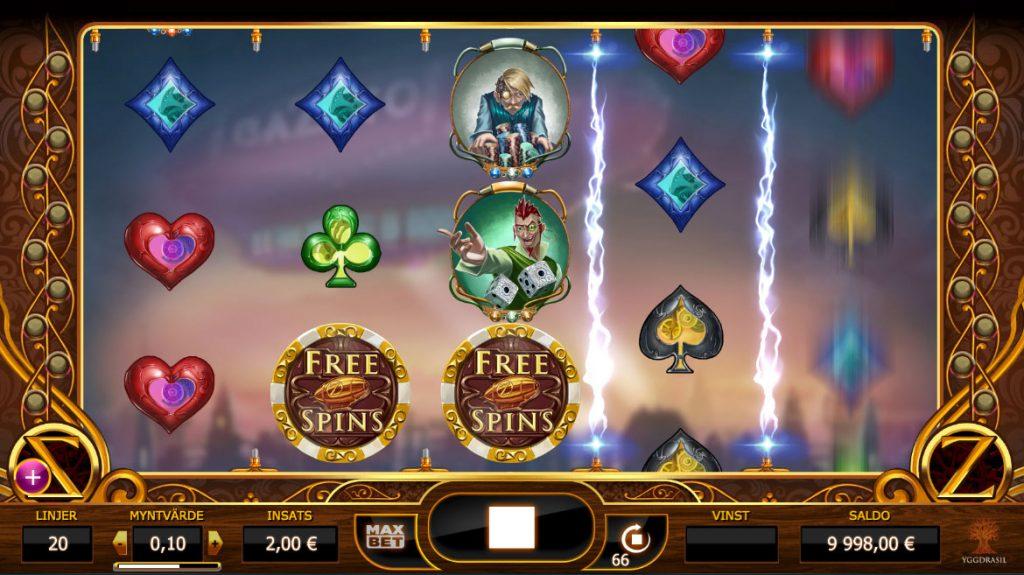 Cazino Zeppelin Casino Game