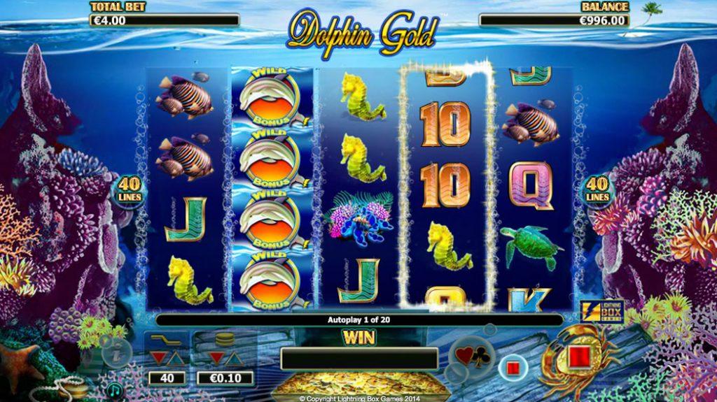 Dolphin Gold Kasinopeli