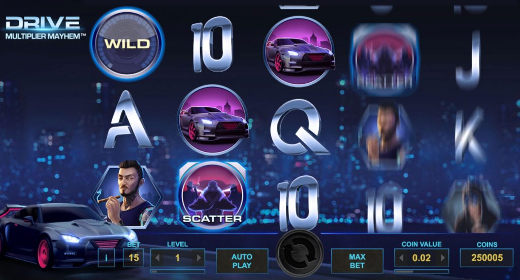 Drive: Multiplier Mayhem Casino Game