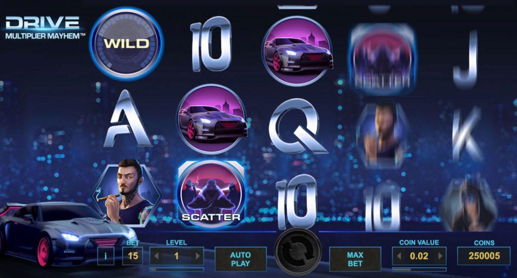 Drive: Multiplier Mayhem Spelautomat