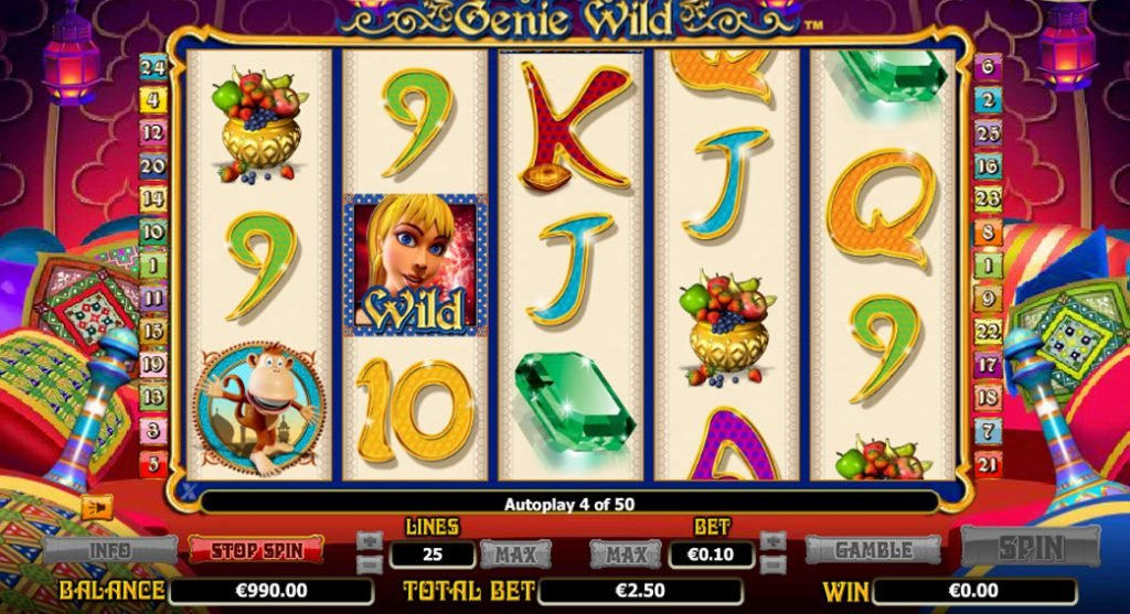 Genie Wild Casino Game