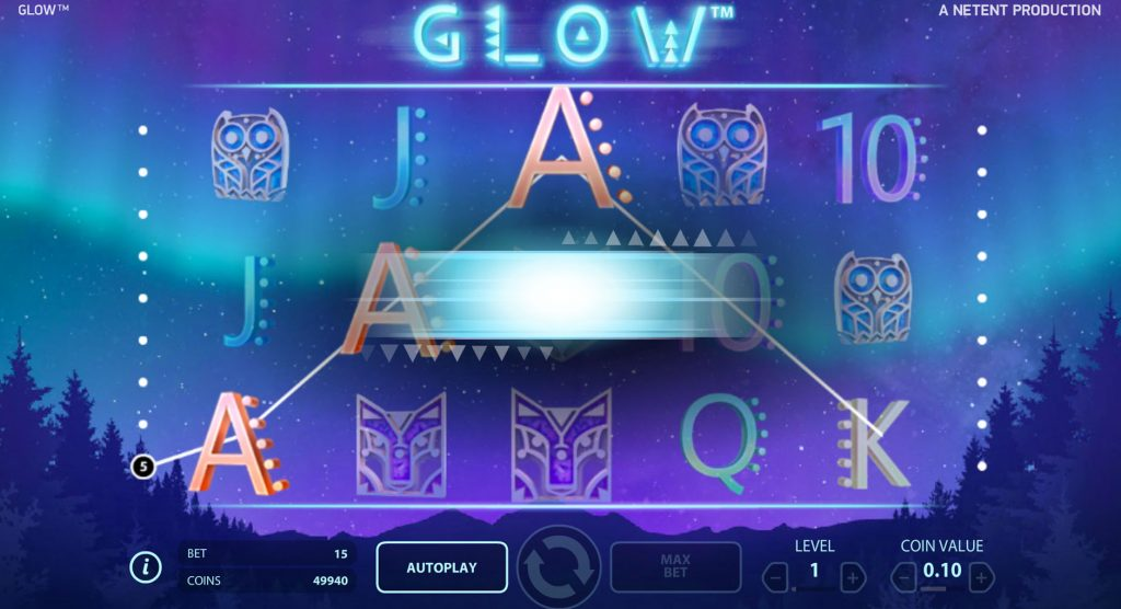 Glow Touch Casino Game
