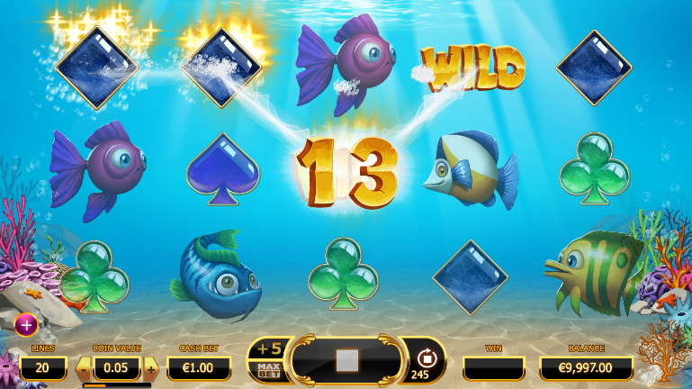 Golden Fish Tank Casino Game