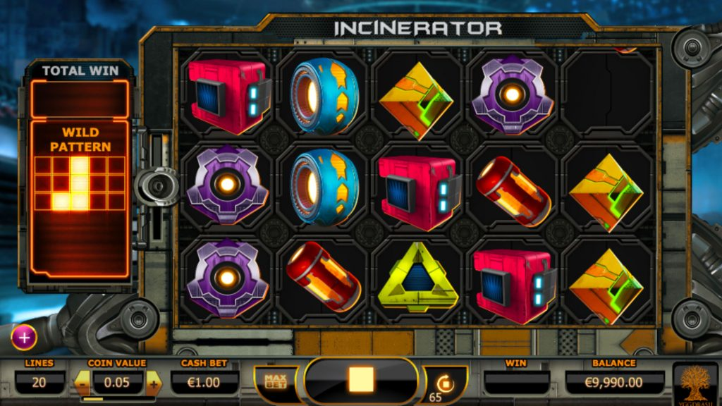 Incinerator Casino Game