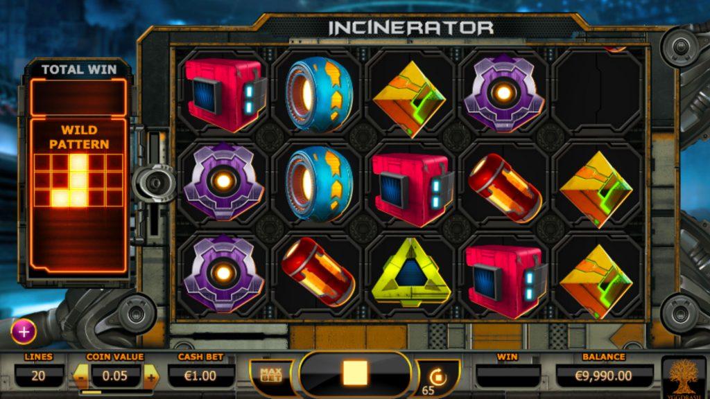 Incinerator Spelautomat
