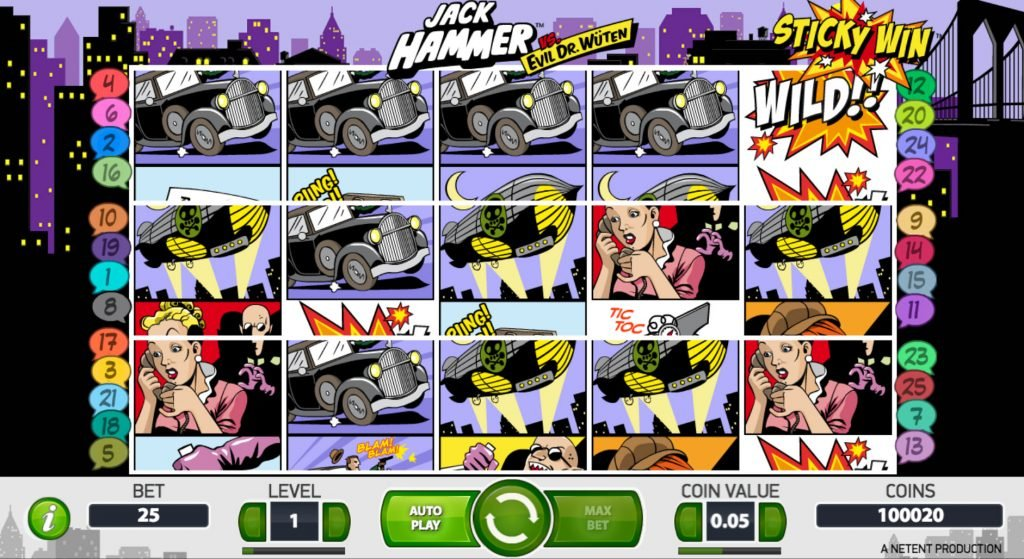 Jack Hammer Casino Game