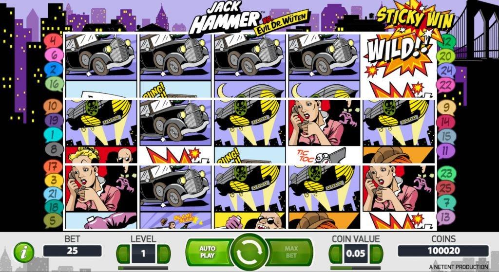 Jack Hammer Spelautomat
