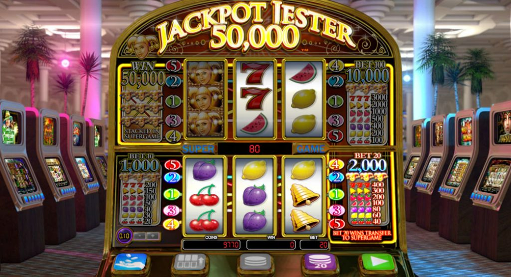 Jackpot Jester Wild Nudge Casino Game