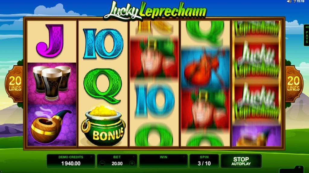 Lucky Leprechaun's Loot Spelautomat