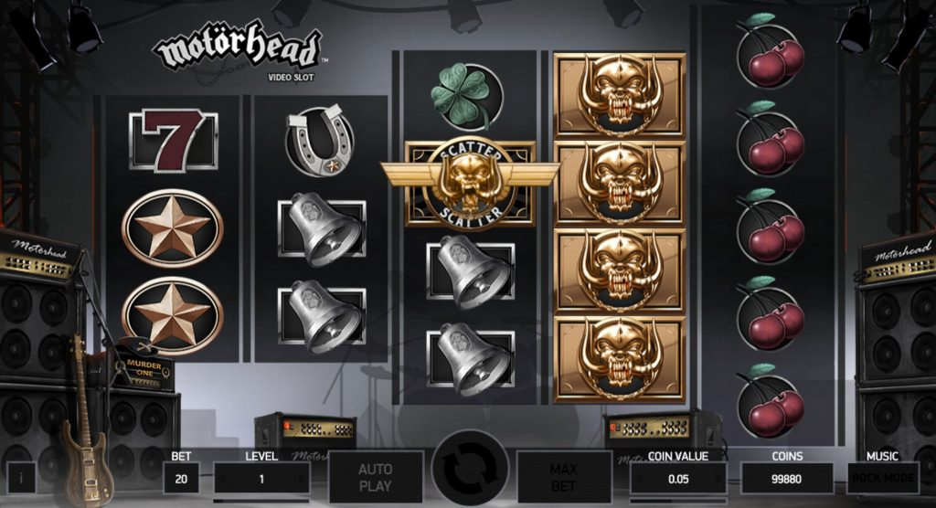 Motörhead Casino Game