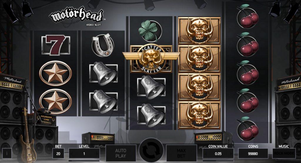 Motörhead Spelautomat