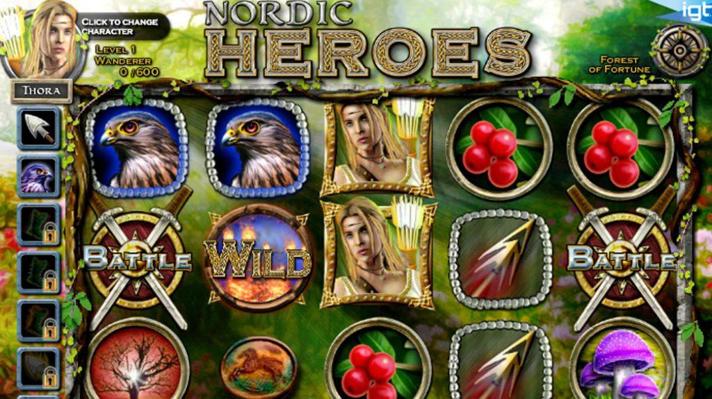 Nordic Heroes Spelautomat