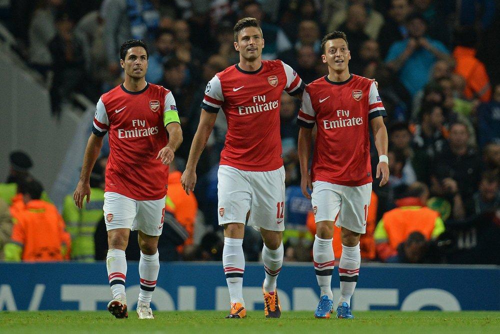 Arsenal 3-1 Bournemouth, West Ham 1-1 Manchester United, Chelsea 2-1 Tottenham