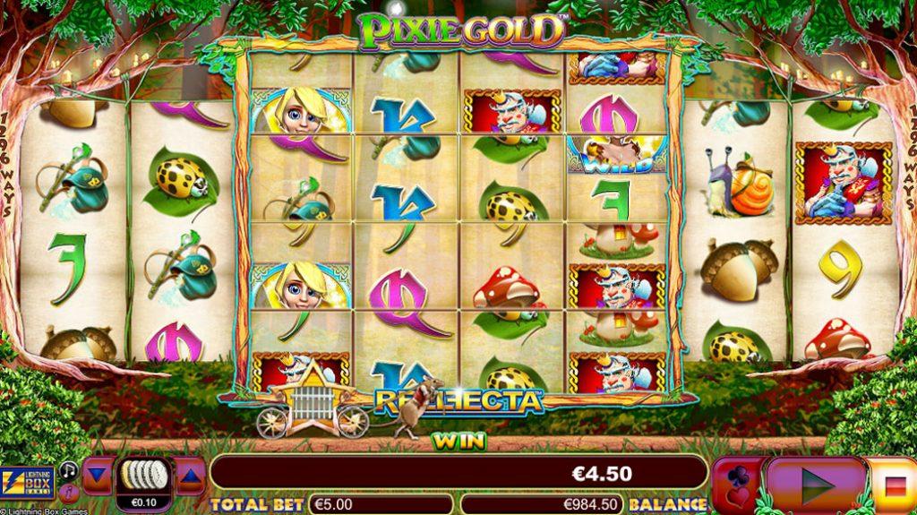 Pixie Gold Spelautomat