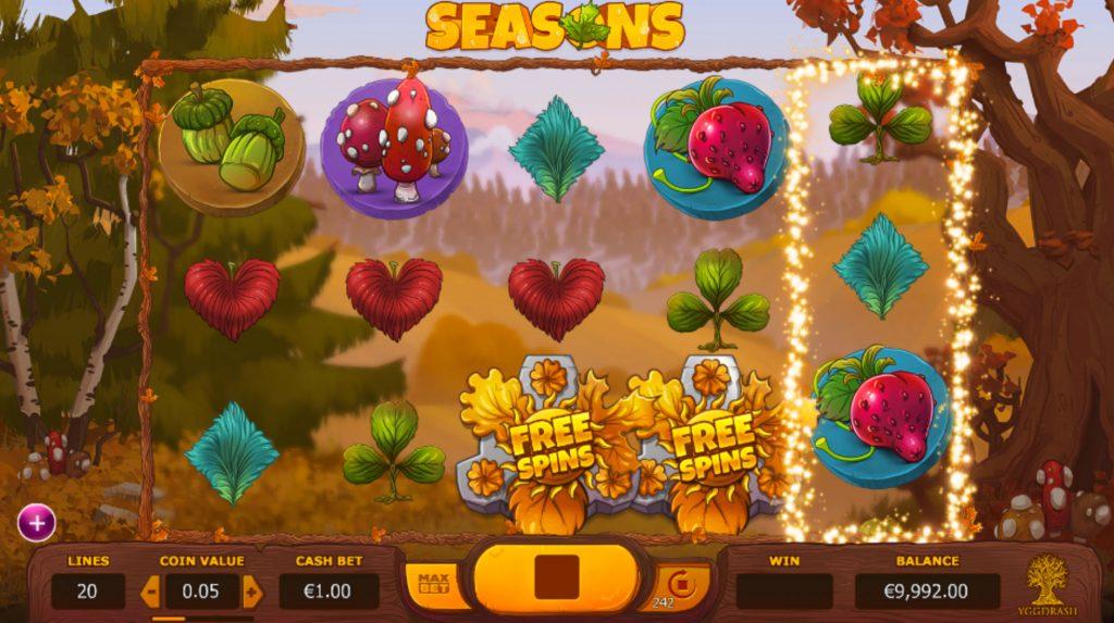Seasons Casino Game
