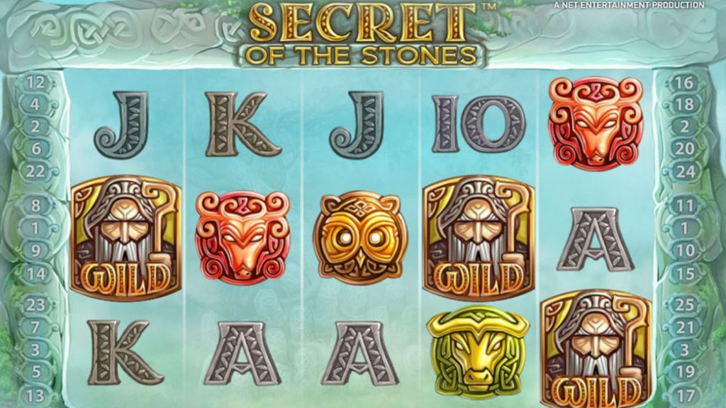 Secret of the Stones Casino Game