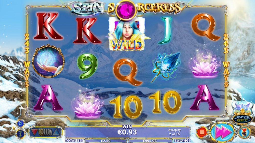Spin Sorceress Kasinopeli