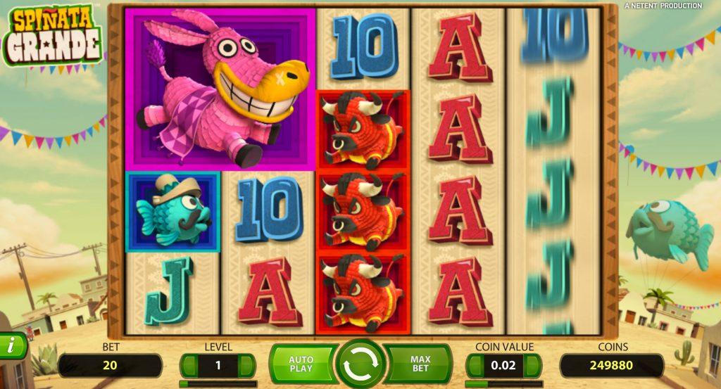 Spinata Grande Casino Game
