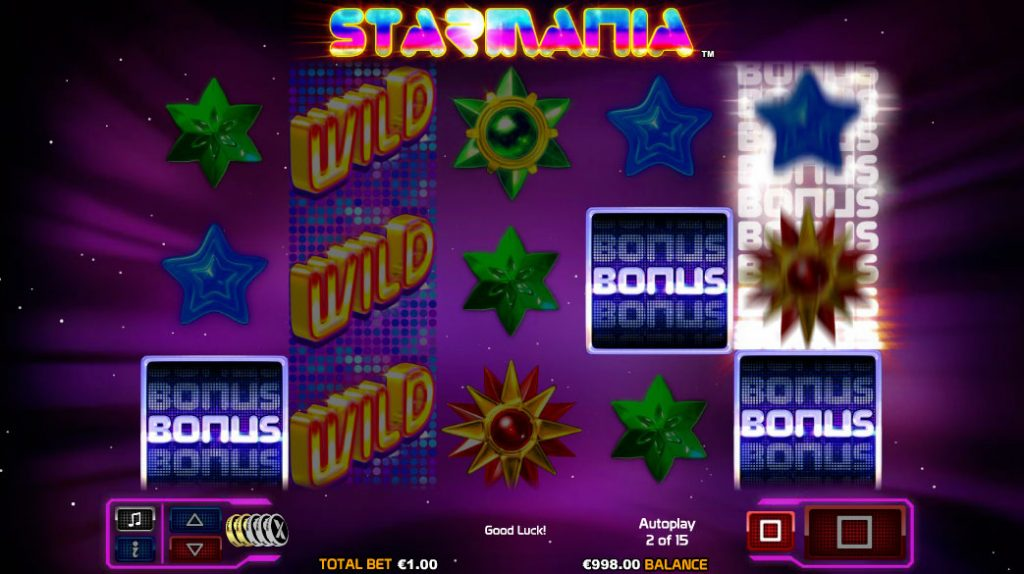 Starmania Casino Game
