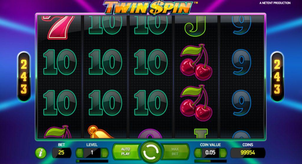 Twin Spin Kasinopeli