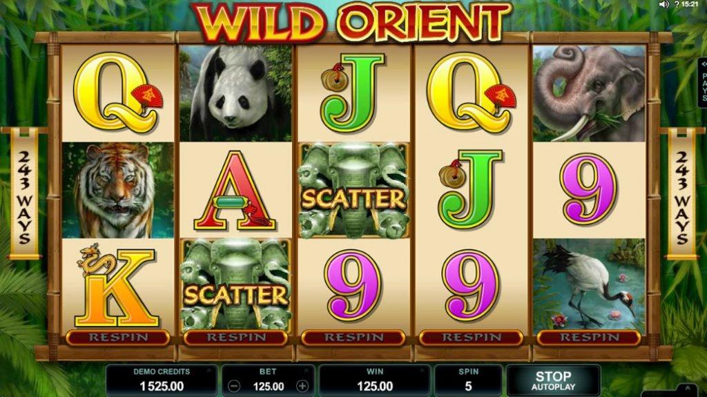 Wild Orient Spelautomat