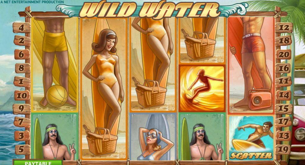 Wild Water Spelautomat