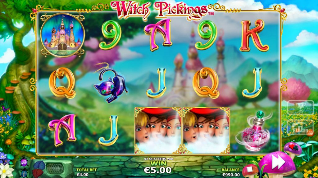 Witch Pickings Casino Game