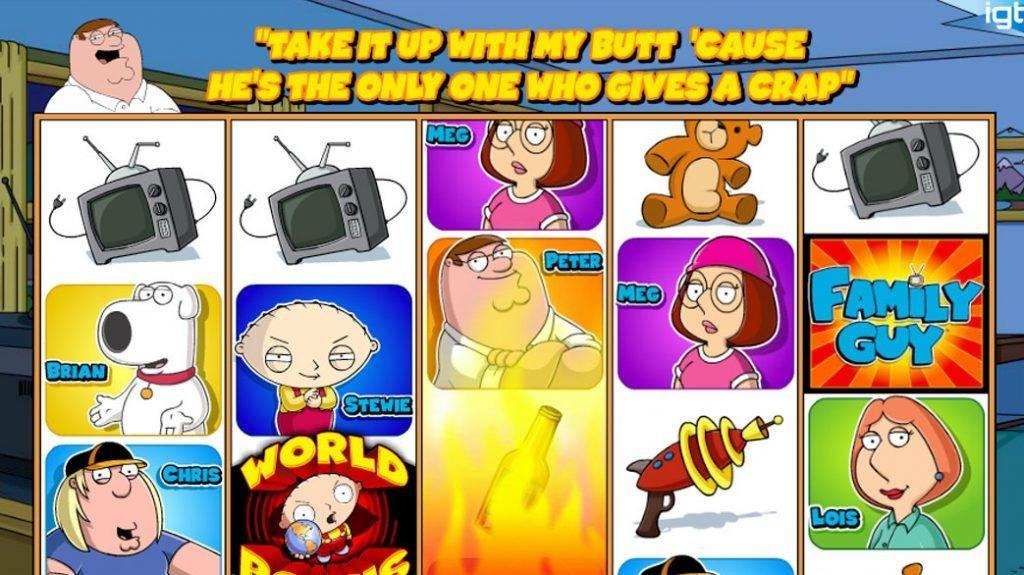 Family Guy Spelautomat
