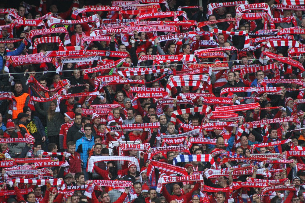 Bayern sopar mattan med Arsenal