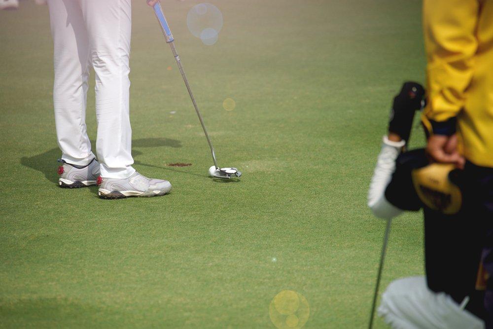 Betta på golf