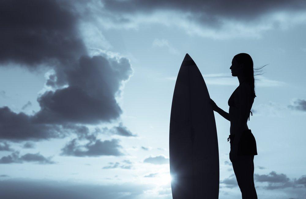 Betta på surfing