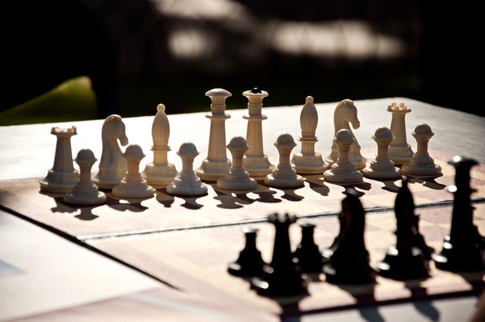 Betta på schack