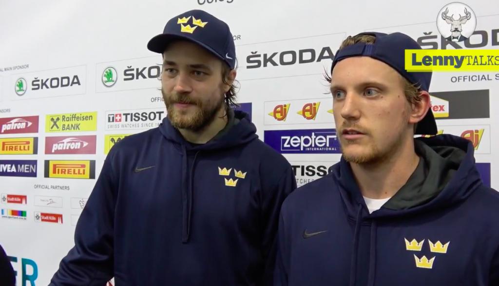 Vi möter Tre Kronors Victor Hedman och Jonas Brodin