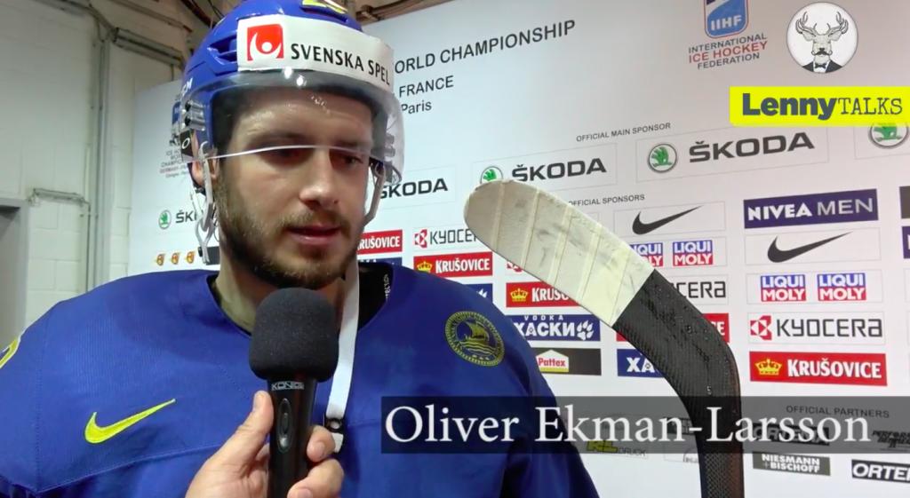 Frågan uppskattades inte – här sätter Oliver Ekman-Larsson reportern på plats!