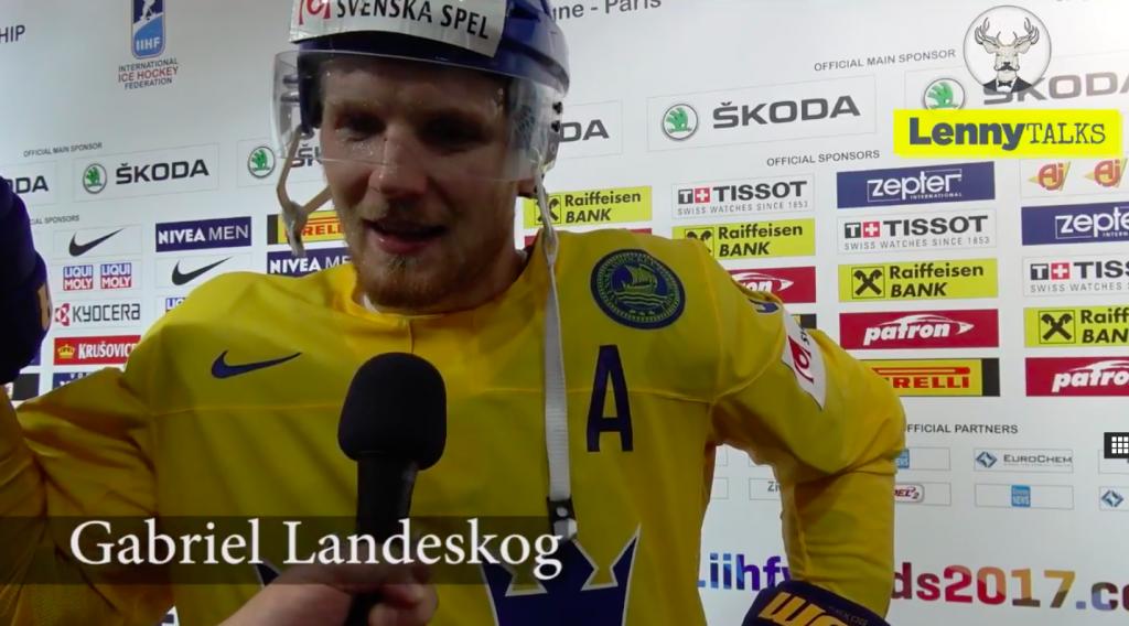 Gabriel Landeskog om segern mot Lettland och förväntningarna på förstärkningen