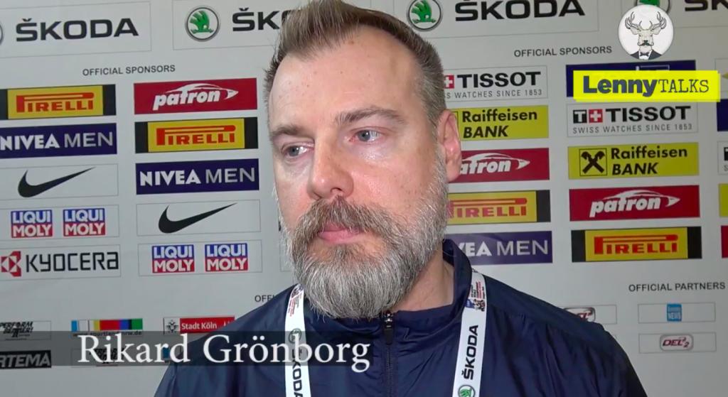 """Rikard Grönborg om kvällens möte mot Finland: """"Vi förbereder oss mot en tuff motståndare"""""""