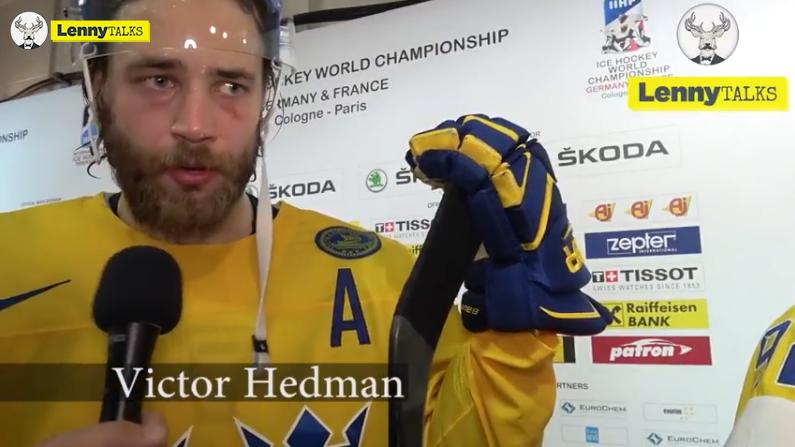 """Victor Hedman: """"Vi ska göra allt för att vinna"""""""
