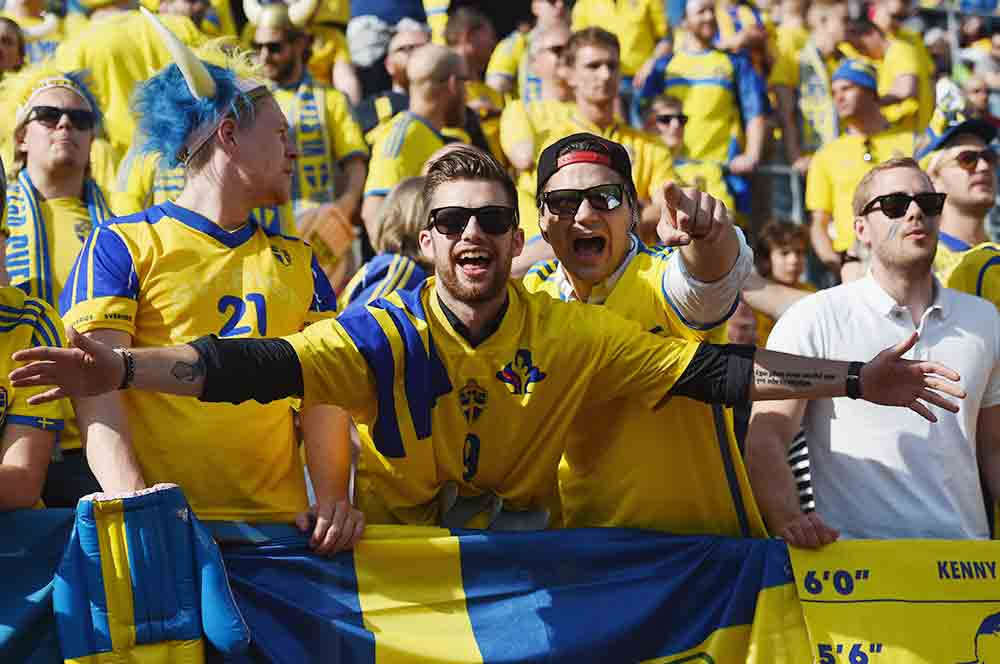 Sweden qualifies for the World Cup!