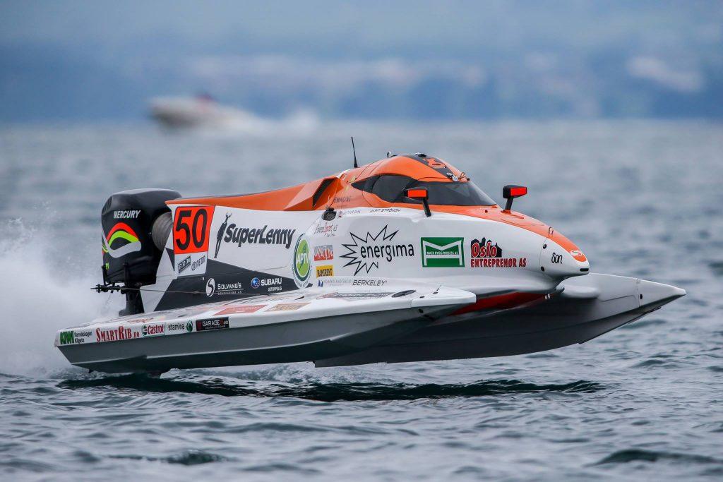Marit Strømøy kör fort i F1 H2O World Championship