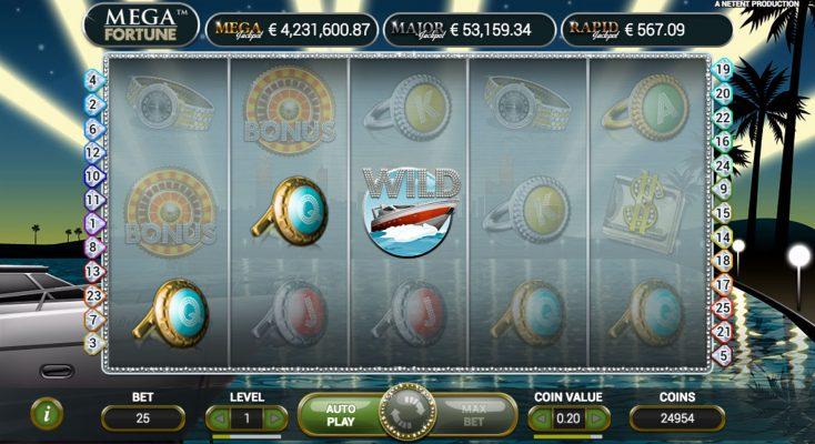 Mega Fortune Jackpot Winner