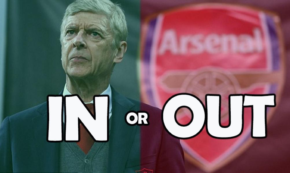 Tränaren Arsène Wenger – In or out?