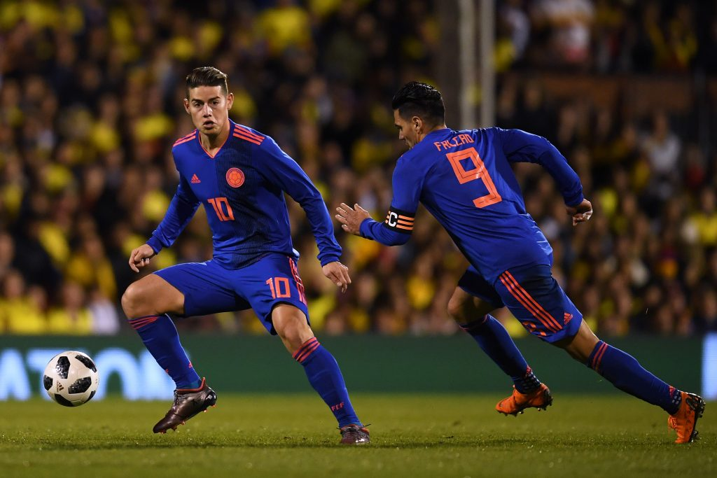 Colombia – ett av Sydamerikas starkaste lag i VM
