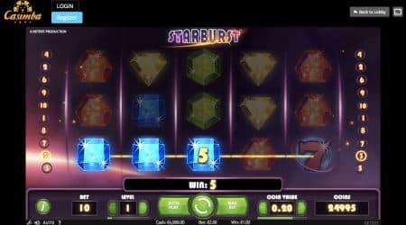 Casimba Online Casino gameplay