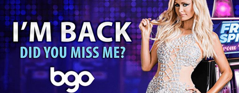 Paris Hilton Advert