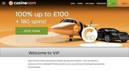Casinocom welcome bonus